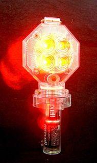防獣ライト 赤 点灯.JPG